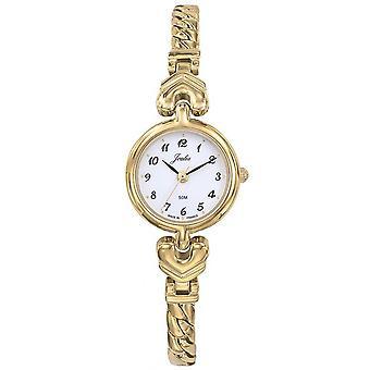 Montre Certus 630547 - JOALIA Bo�tier Acier Dor� Rond Bracelet Acier Dor�  Femme