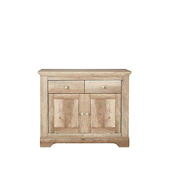 Ideal Home Wiltshire Compact Sideboard Rustic Oak RRP £239