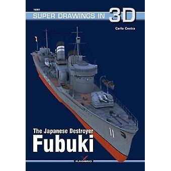 The Japanese Destroyer Fubuki by Carlo Cestra