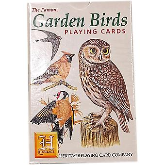 Heritage Playing Cards - Garden Birds
