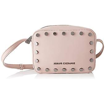 ARMANI EXCHANGE Small Crossbody Bag - Borse a tracolla Donna Rosa (Under The Skin) 15x7x20 cm (B x H T)