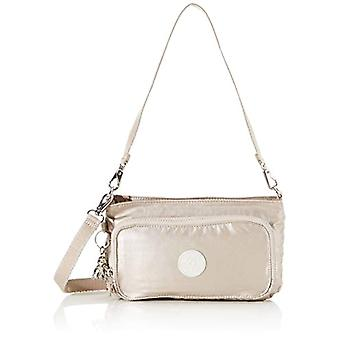 KiplingMyrte Donna Silver shoulder bag (Metallic Glow)24 Cmx 145 Cmx 45 Centimeters (B x H x T)