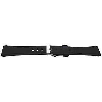 Diving watch strap 18mm (20mm overall width) stainless steel buckle