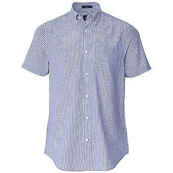 Gant Regular Fit Camisa Delontada De Manga Curta