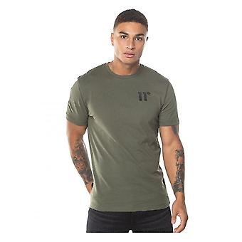 11 Degrees 11d Core T Shirt Khaki