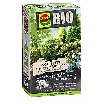 COMPO BIO conifers long-term fertilizer with sheep wool, 750 g