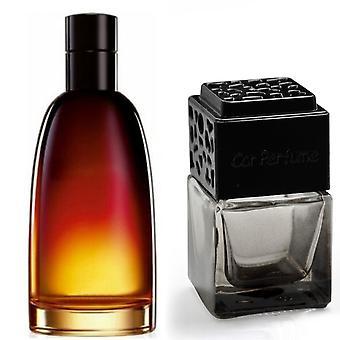 Christian Dior Fahrenheit For Him Inspired Fragrance 8ml Smoked Black Bottle Car Air Freshener Vent Clip