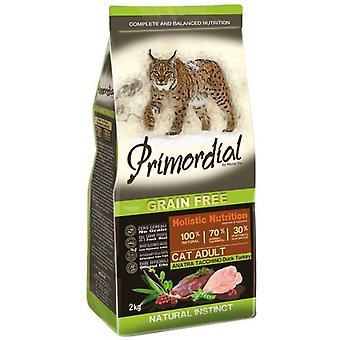 Primordial Nourriture pour Chats Adult Canard et Dinde (Chats , Nourriture , Croquettes)