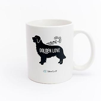 Paws Up Mug Golden Love (PetLovers)