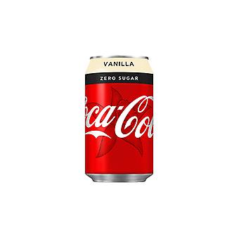 Coca Cola Us Vanila zero -( 355 Ml X 12 lattine )