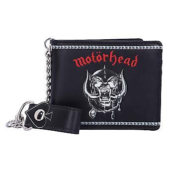 Motorhead Wallet Warpig Band Logo new Official Black Bifold