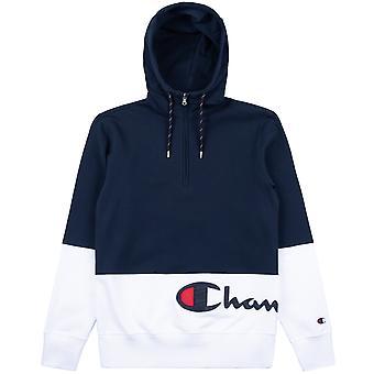 Champion Men's Hoodie Half Zip Hooded Sweatshirt 214205