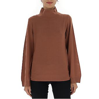 Fabiana Filippi Mad129b921n9072150 Women's Brown Cashmere Sweater