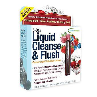 Applied nutrition 5-day liquid cleanse & flush, mixed berry, 10 ea