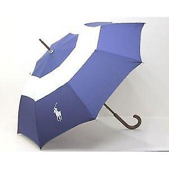 Ralph Lauren Blue & biely Golf dáždnik