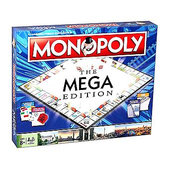 Winning Moves Mega Edition Monopoly Brettspiel