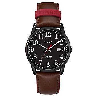 Timex Analog Quarz Herrenuhr mit Leder TW2R62300