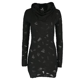 Restyle - ripped hooded dress - gothic ripped dress with hood