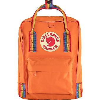 Fjallraven Kanken Rainbow Mini - Bränd Orange