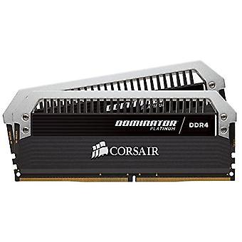 Corsair CMD16GX4M2B3000C15 Dominator Platinum nagy teljesítményű asztali memória készlet, DDR4 16 GB, 2 x 8 GB, 3000 MHz, fekete