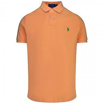 ポロ ラルフ ローレン ラルフ ローレン ポロ オレンジ 半袖 スリム フィット ポロ T シャツ 710548797