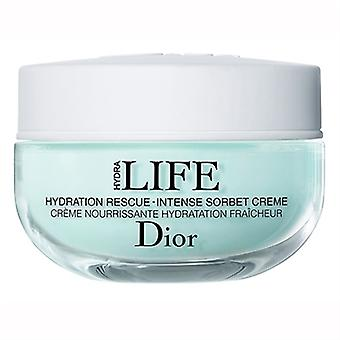 Christian Dior Hydra Life Hydration Rescue Intense Sorbet Creme 1.7oz / 50ml