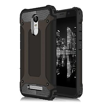 Shell pour Xiaomi Redmi Note 3 Hard Armor Protection Black TPU Case