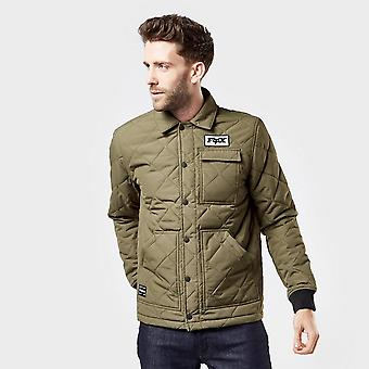 New Fox Men's Speedway Jacket Green
