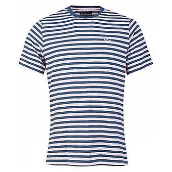 Barbour Delamere stripete Crew Neck T-skjorte