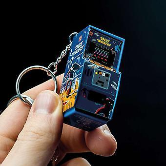 Space Invaders Arcade Kabinet Sleutelhanger
