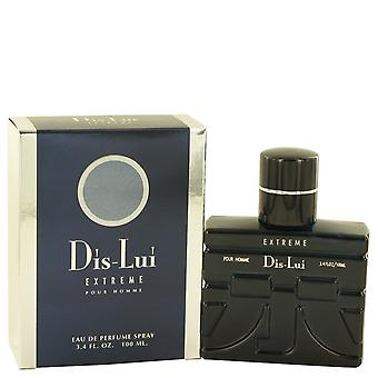 Dis Lui Extreme by YZY Perfume Eau De Parfum Spray 3.4 oz / 100 ml (Men)