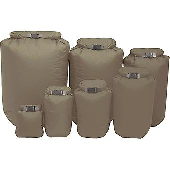 Exped Fold-Drybag 4 Pack (XS - L) - Olive Drab
