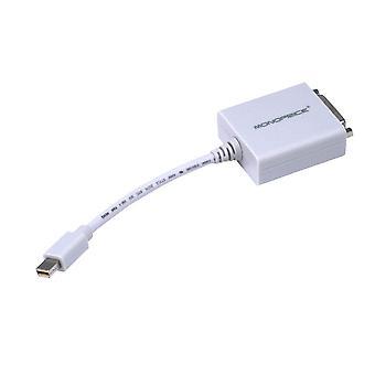 Mini DisplayPort 1,1 till DVI Adapter Vit av Monoprice