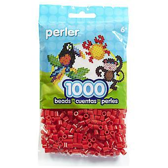 Perler Beads 1,000/Pkg-Red
