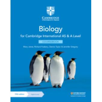Cambridge International AS  A Level Biology Coursebook with by Mary Jones