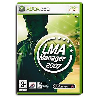 LMA Manager 2007 (Xbox 360) - New