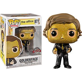 The Office Jim Halpert Goldenface US exclusive Pop! Vinyl