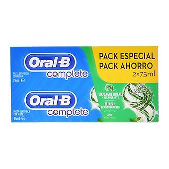 Toothpaste Complete Oral-B (2 uds)