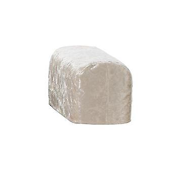 Ændring sofaer stor størrelse Mink Knust Velvet Par Arm Caps til sofa lænestol