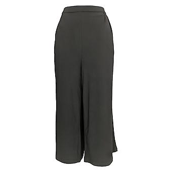 Linea by Louis Dell'Olio Women's Pants Moss Crepe Gaucho Pant Black A273865