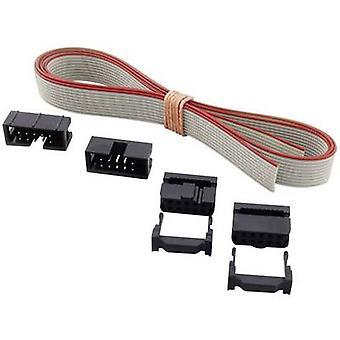 BKL Electronic Pin Connector Set + Zugentlastung Kontaktabstand: 2,54 mm Gesamtanzahl der Stifte: 26 Nein. Der Zeilen: 2 1 Set