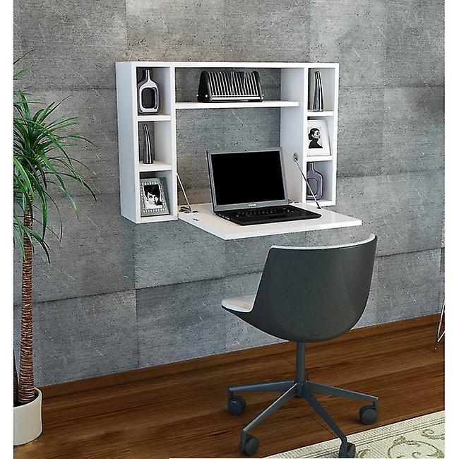 Omega Color White bureau en puce melaminique, PVC 90x19.5x60 cm