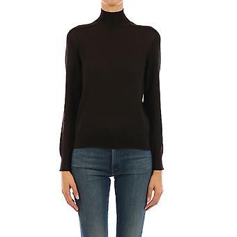 Bottega Veneta 631292vkw302113 Women's Brown Cashmere Sweater