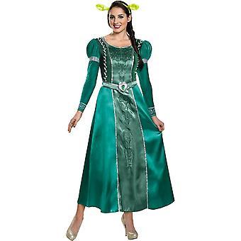 Shrek Fiona aikuisten puku