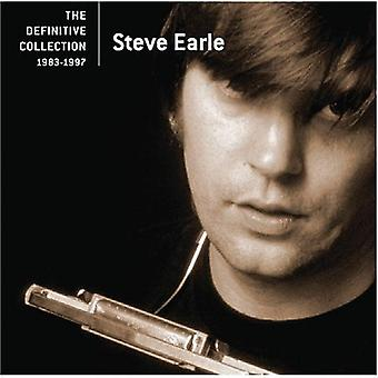 Steve Earle - Definitive Collection [CD] USA import