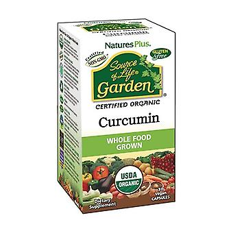 Garden Turmeric 30 vegetable capsules of 400mg