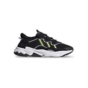Adidas - Schuhe - Sneakers - EE7002_Ozweego - Unisex - black,palegreen - UK 8.5
