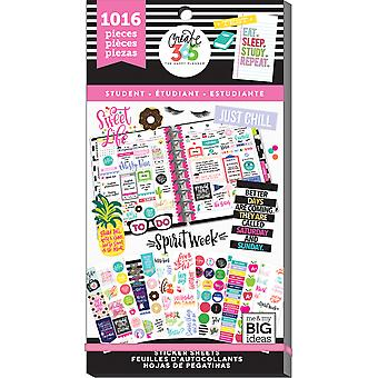Gelukkig planner sticker Value Pack-student, 1016/pkg