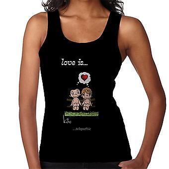 Love Is Telepathic Women's Vest