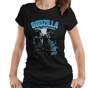 Godzilla King Of The Monsters Elemental Power Women's T-Shirt